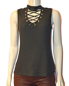 Cara Mock Neck - BLK