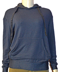 Viscose Fleece - NAVY