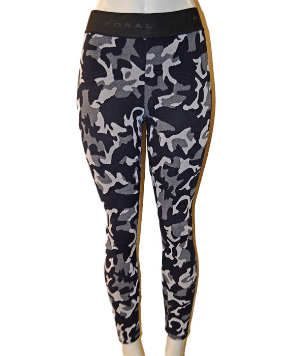 Knockout High Rise Legging - BLKCAMO