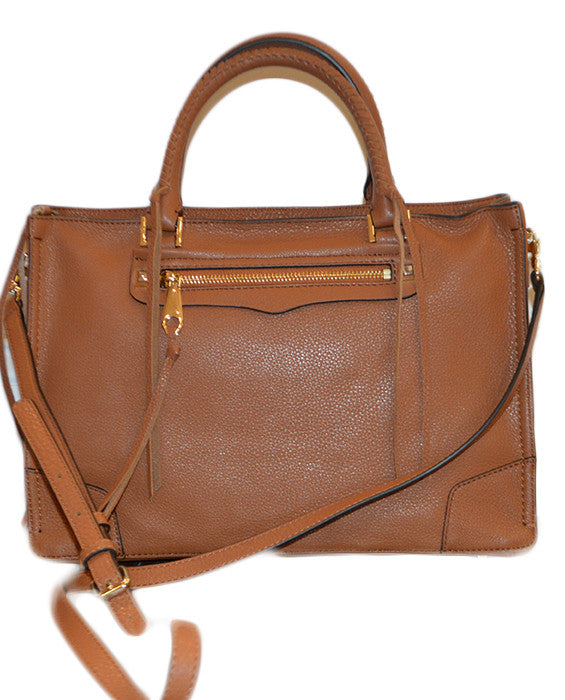 Regan Satchel - ALMOND