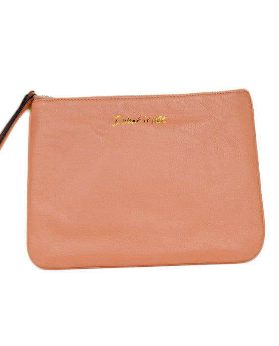 Kerry Pouch- APRICOT