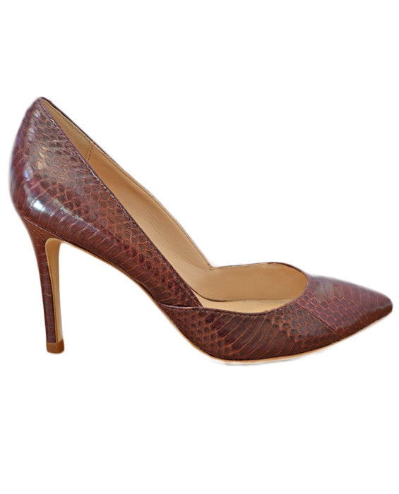 Pari Pumps - MAROON