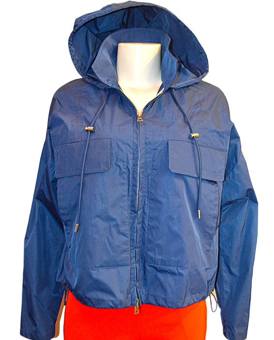 Cropped Anorak - LIBBLUE