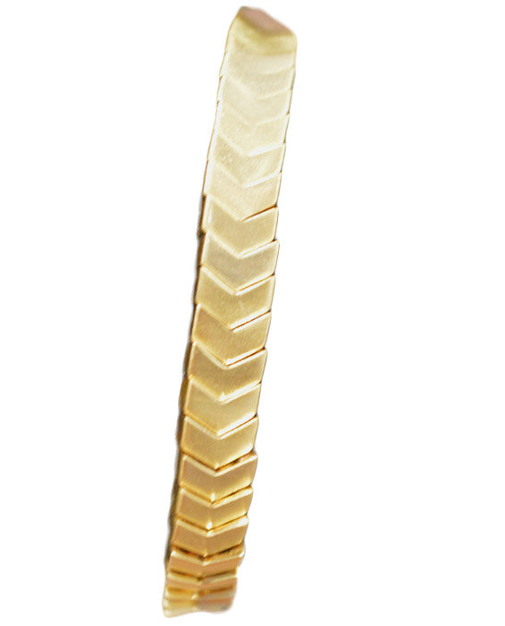 Chevron Stretch- GOLD