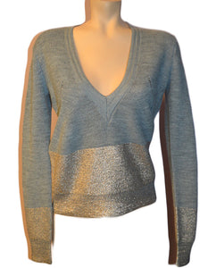 Delphine Sweater- GREYGOLD