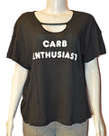 Rivo Tee Carb Enthusia - BLACK