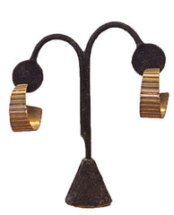 Escala Earrings - BRONZE