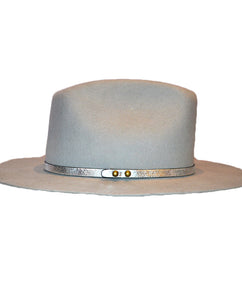 HAT ATTACK - Cassidy Metallic GREY