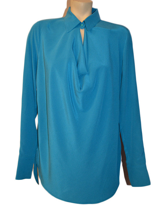 LS Cowl Neck Blouse- BAY