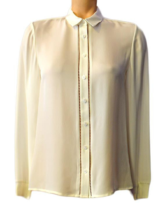 Ribbed ButtonDown - WHITE