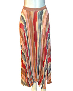 Shannon Pleated Maxi Skirt - SUNSETLA