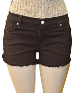 Cut Off Shorts - BLACK