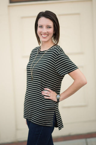 My Favorite Striped Tunic