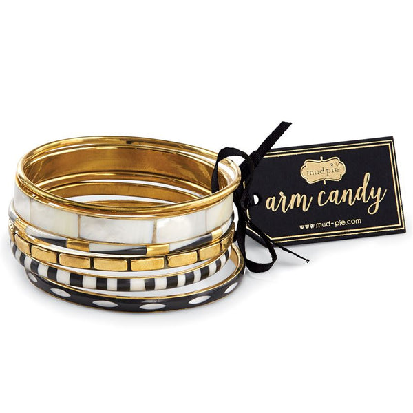 Santorini Bangle Set - Pretty Please on Broad