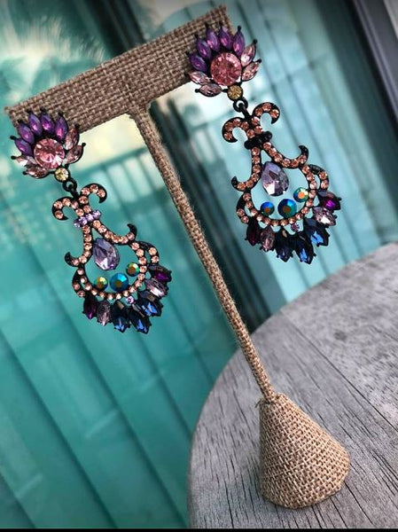 Crystal Designer Earrings