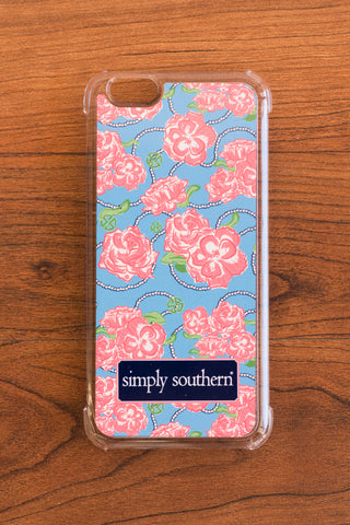 Simply Southern Roses iPhone Case - Emily Kathryn Boutique