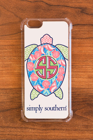 Simply Southern Sea Turtle iPhone Case - Emily Kathryn Boutique