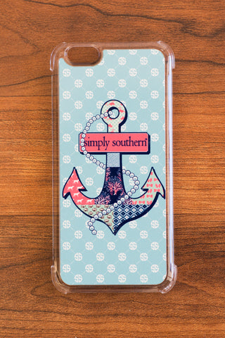Simply Southern Anchor iPhone Case - Emily Kathryn Boutique