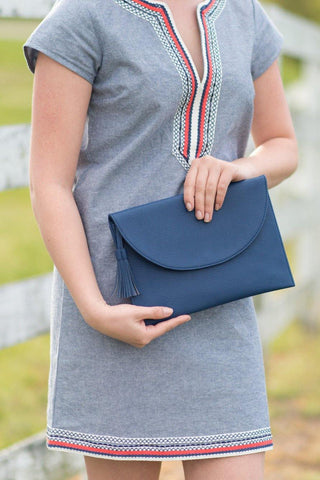 Bailey Crossbody Bag - Navy - Pretty Please on Broad