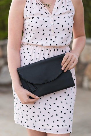 Bailey Crossbody Bag - Black - Pretty Please on Broad