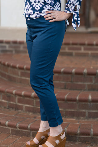 Emerson Essential Pant - Navy - Pretty Please on Broad