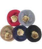Fur Pom Pom Beanie - Pretty Please on Broad