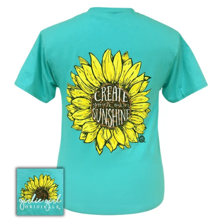 Create your own Sunshine Girlie Girl Original Tee