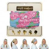 Simply Southern Versatile Headbands - Pretty Please on Broad