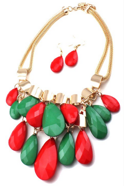 Holiday Necklace Set - Pretty Please on Broad