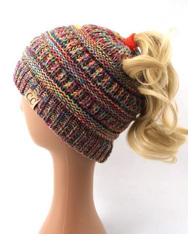 KID S Multi Color CC Beanies – Pretty Please on Broad 89ed9b7b360b