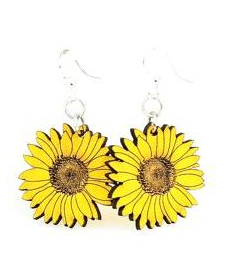 Adorable Sunflower Earrings - Pretty Please on Broad