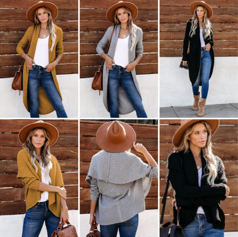 Double Take Cardigan Sweater