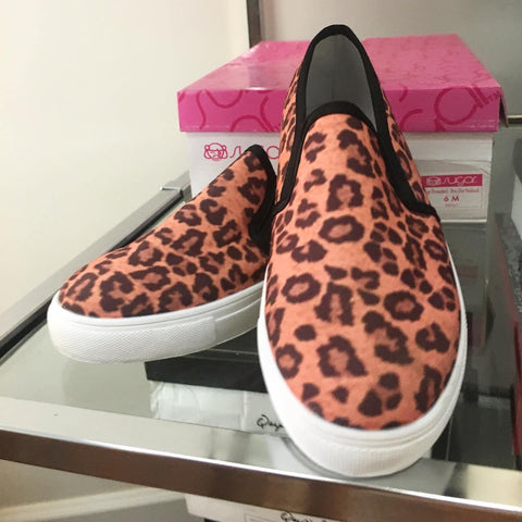 Fabulous Leopard Slip On Sneakers
