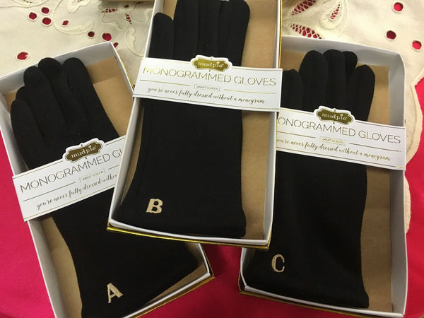 Monogram Gloves - Pretty Please on Broad