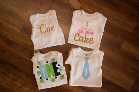 Bring On The Cake Girl's Onesie - by-Simply-Southern-Pretty-Please-on-Broad-Boutique