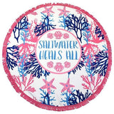 Simply Southern Beach Towels - Pretty Please on Broad
