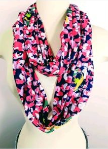 Simply Southern Floral Infinity Scarf