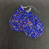 Double-sided Glitter Earrings Lightweight Blingy Glitter Glittery Trending Unique Jewelry_Pretty Please on Broad Online Boutique Altavista VA