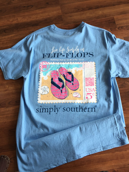 Simply Southern - Live Life Simply in Flip Flops