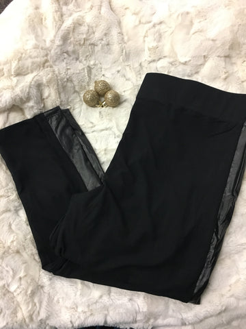 Tuxedo Leggings - Pretty Please on Broad