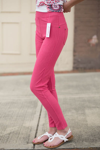 Denim Jeggings - by-Simply-Southern-Pretty-Please-on-Broad-Boutique
