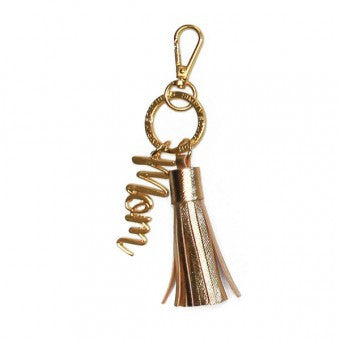 Simply Southern Gold Key Fob - Pretty Please on Broad