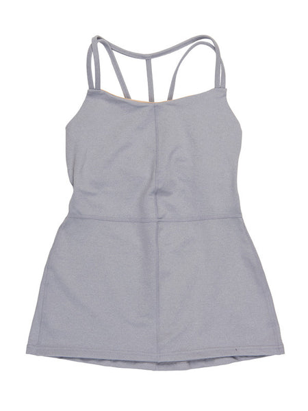 Heather Chromium Grey Alexandra Tank