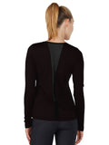 Daria Long Sleeve - Black back