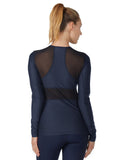 Emma Long Sleeve - Midnight Navy back