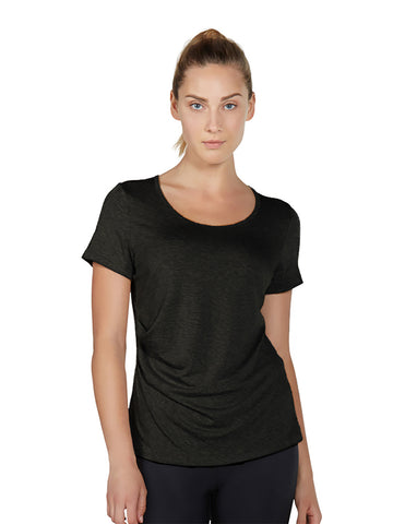 Karlie Tee II - Black - Karma Athletics