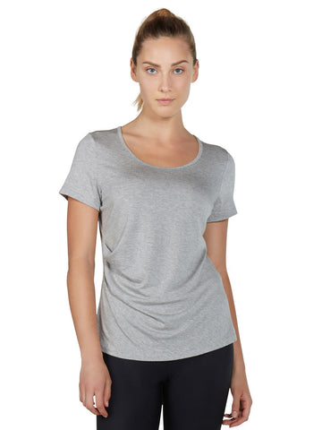 Karlie Tee - Heather Ash Grey - Karma Athletics
