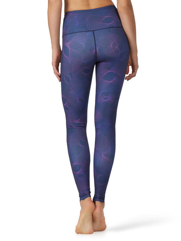 Printed Kata Tight II - Sprio Navy back