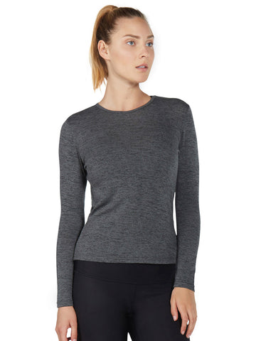 Paloma Sweater - Heather Stone - Karma Athletics