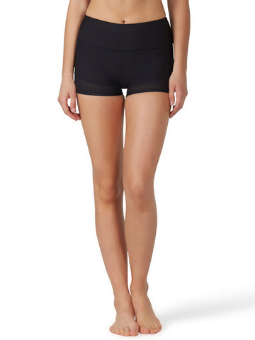 KarmaLuxe Rochelle Short - Black - Karma Athletics